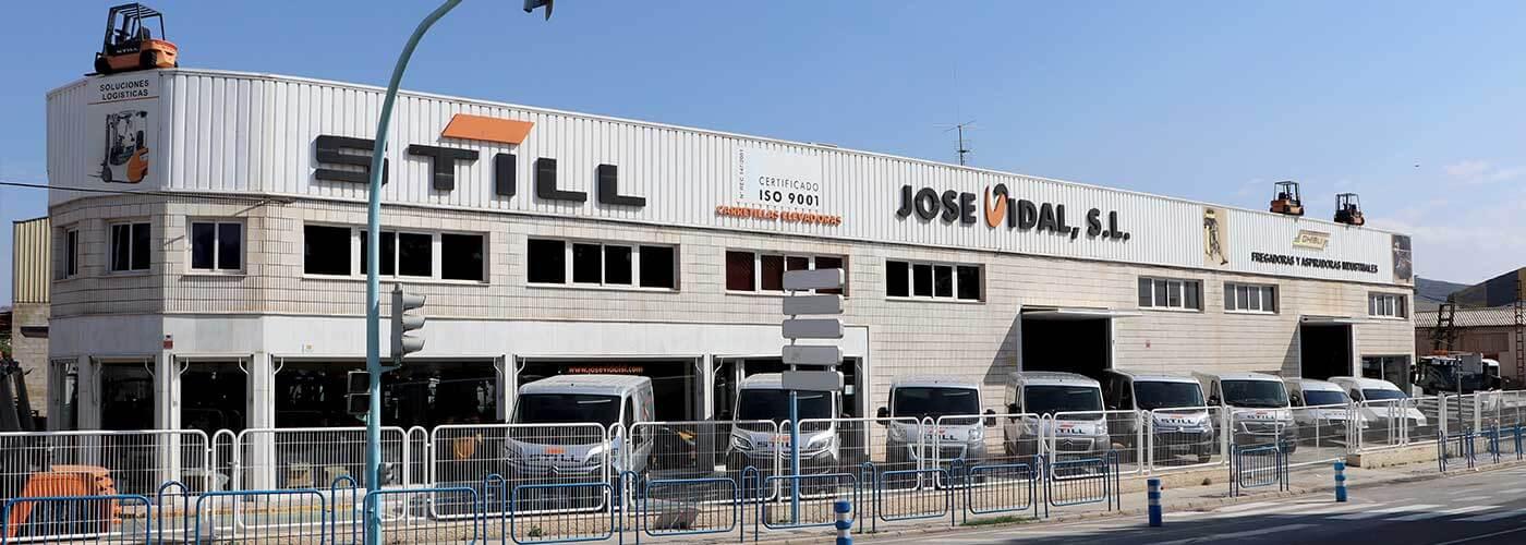 Instalaciones distribuidor STILL en Alicante