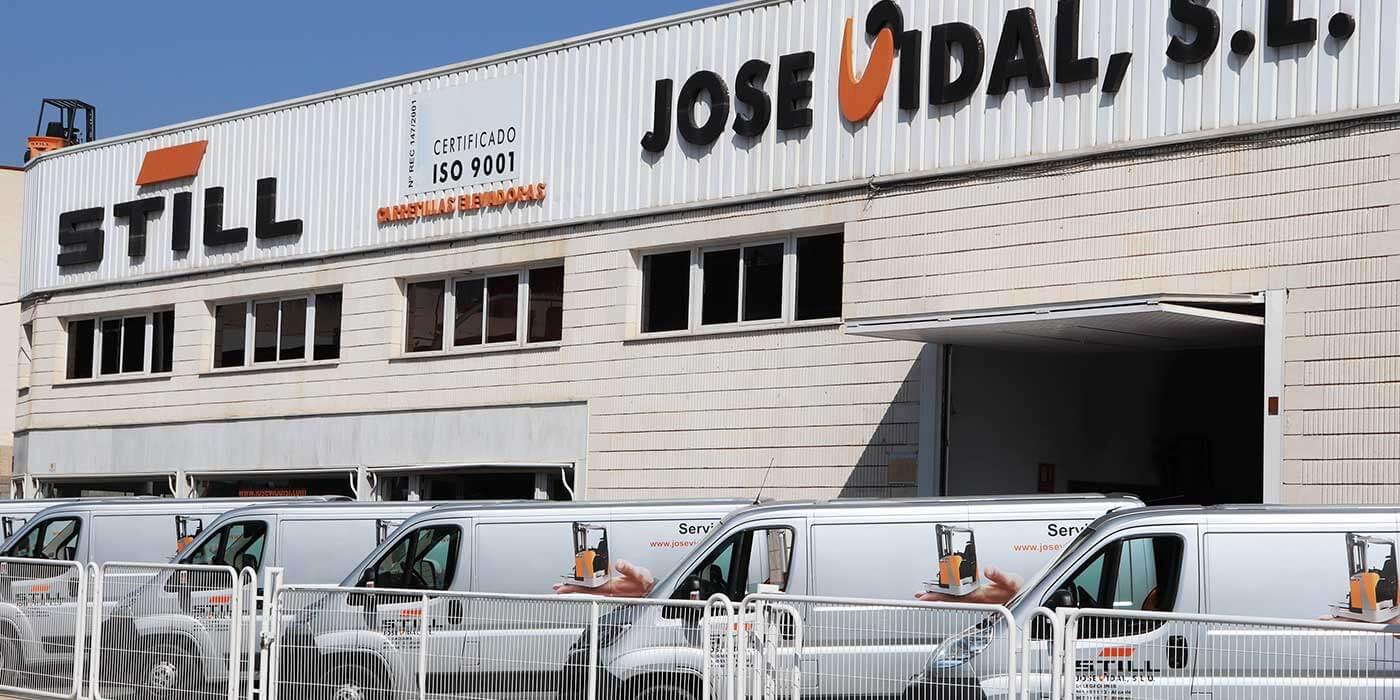 Fachada instalaciones Alicante JOSE VIDAL SLU