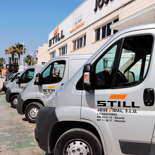 Servicio técnico STILL para Alicante y Albacete