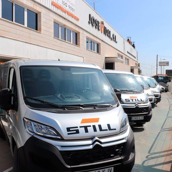 Servicio Técnico Oficial STILL para Alicante y Albacete
